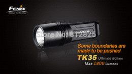 Wholesale Cree Flashlight Fenix - Fenix TK35 Ultimate Edition Cree MT-G2 LED 1800 Lms Waterproof Flashlight Torch high power light for camping hikingFreeShipping