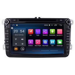 Wholesale Vw Bora Dvd Radio - 8'' Quad Core Android 6.0.1 Car DVD Player For VW Caddy Tiguan Touran Magotan Superb EOS Bora Amarok With GPS Map