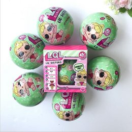 Wholesale Cartoon Plastic Box - Girls Dolls LOL Surprise Lil Sisters Series 2 Lets be Friends Action Figures Toys Baby Doll with retail box Kids Gifts
