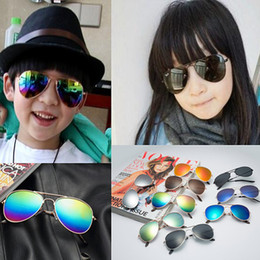 Wholesale Cheap Boutique Kids - Cheap Kids Sunglass Children Beach Supplies Sunglasses Boutique Childrens Fashion Accessories Sunscreen baby for boys Girls gift Glasses