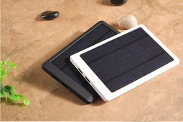 Wholesale Solar 3w Phone - Hot selling full 10000mAh Solar power bank WN-160 with 3W solar power for Cell phone Laptop Camera MP4