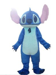 Wholesale Lilo Stitch Mascot - Adult Size Mascot Costume lilo and Stitch Cartoon Character Costumes Fancy Dress