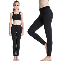 Wholesale Tight Female Trousers - Women Yoga Sports Pants Elastic Wicking Tights Female Sports Elastic Fitness Running Trousers Slim Leggings Sports Gym Clothing