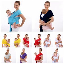 Wholesale Wrap Infant Carrier - Baby Carriers Wrap Newborn Carrier Backpack Slings Toddler Suspenders Seat Kids Waist Stool Straps Infant Waist Bench Belt 8 Colors OOA3436