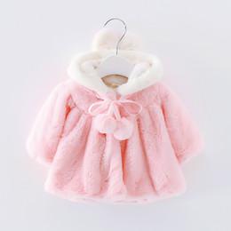 Basacomie Retail Children's Clothing Abrigo de niña Warm Velvet Baby Girls Cloak Winter Warm Niños Abrigos Abrigos 2-9T desde fabricantes