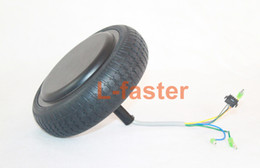 Wholesale Motor Balance - Wholesale-6.5 Inch Self Balancing Scooter Motor Wheel With Tire Electric Self Balance 2 Wheels Unicycle Hover Board Motor Replacement