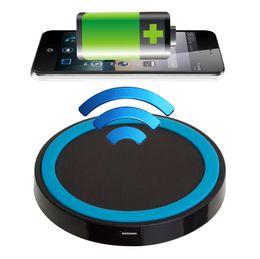 Q5 QI cargador de carga inalámbrico Power Pad para iPhone 6s 6 para Samsung Galaxy S6 S5 S4 S3 Nota 5 4 3 para LG Nexus desde fabricantes