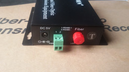 Wholesale Digital Video Transceiver - 1-channel Digital Video Optical Transceiver comes with 1-channel reverse RS485 data fiber converter FC20 KM
