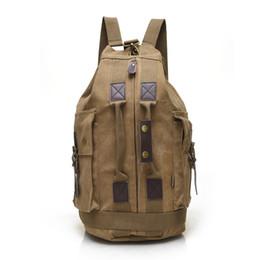 Wholesale Cool Canvas Backpacks - 2016 Small MOQ wholesale men fashion bag cool korean backpack street snap shoulder bag short trip men women backpack
