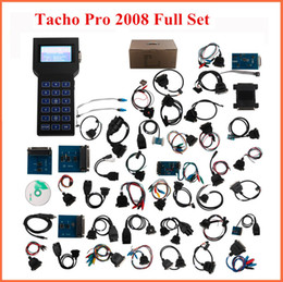 Wholesale Opel Odometer Correction - 2017 tacho pro 2008 universal odometer programming tool Unlock version Dash Programmer 1 year warranty best quality dhl free shipping
