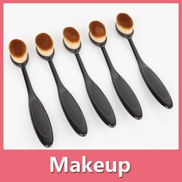Wholesale Bamboo Plastic Bag - Makeup Brushes Set Cosmetics Maquiagem Profissional High Quality Bamboo Cosmetic Brushes Kit Brush With Opp Bag 160923