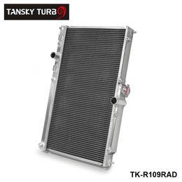 TANSKY-For Mitsubishi Lancer EVO 7 8 9 42MM 2 Row Aluminum Alloy Radiator  01-07 MT TK-R109RAD