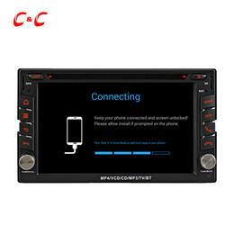 Wholesale Ford Car Dvd Player - HD 1024*600 Quad Core Android 5.1.1 Car DVD Play for ford Universal with GPS Navigation Radio Wifi Mirror link DVR