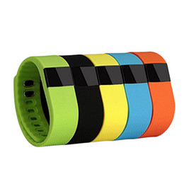 Wholesale Bluetooth Bracelet Display - TW64 bluetooth fitness smartband wristband watch Caller ID display remote control self timer sleep Bracelet Android IOS compatibilit