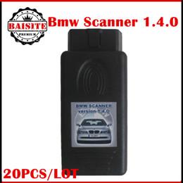 Wholesale E46 Diagnostic - Wholesale Price!!20pcs lot High quality Scanner For BMW 1.4.0 Programmer V1.4.0 Diagnostic Scan Interface E38 E39 E46