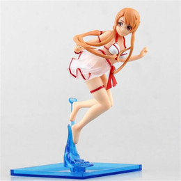 Wholesale Sword Art Online Figures - Hot Selling Sword Art Online Asuna Chara-ani Action Figures PVC Anime Toys Japanese Anime Toys Kagura