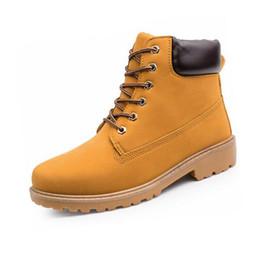 45317aec0cc Botas de los hombres de Moda Martin Boots Botas de madera al aire libre  Casual Casual Amante Otoño Invierno zapatos envío gratis