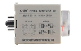 Wholesale Yan Wholesale - Wholesale- Yan Ling HHS5-A electronic time relay ST3PA-A AC220V power delay timer 30s