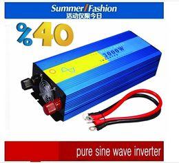 Wholesale Inversor Grid - 12vdc 3000w inverter 3kw pure sine wave, off grid tie, solar home inverter Inversor de onda senoidal