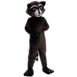 Traje de mascota de mapache Personaje de dibujos animados Tamaño adulto Longteng (TM) de alta calidad (TM) 0025 desde fabricantes