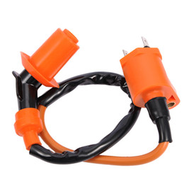 Wholesale ignition coil engine - High Quality Motorcycle Ignition Coil For Honda For Suzuki GY6 Engine 150CC JIC-005 Scooter Moped ATV