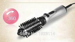Wholesale Hair Styler Roller - Wholesale-Hot Sale SOKANY CT-508 2 in 1 multifunctional hair dryer automatic rotating hair brush roller styler EU plug