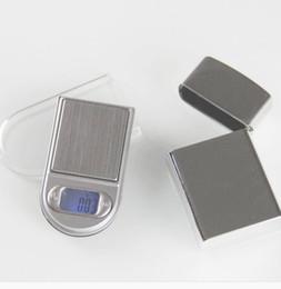 Peso del oro online-por dhl / fedex 100pcs / lot 200g * 0.01g Pantalla LCD electrónica Escala de bolsillo Joyas digitales Escala de pesaje de oro con luz de fondo