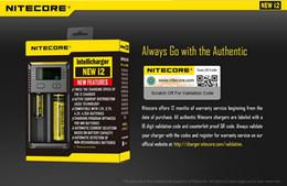 carregador soshine Desconto Original 2016 New I2! Nitecore New i2 Carregador de Bateria com Display LED de Carregamento para 10340 10350, 10440 10500 12340 12500 12650 16650 etc