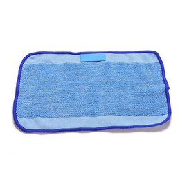 Wholesale Reusable Mopping Cloth - New Arrive Reusable Replacement Microfiber Mopping Cloth For iRobot Braava 380t 320 Mint 4200 5200 Robotic 28.5X18cm
