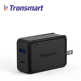 Wholesale Brand Certified - Tronsmart W2PTU 2 Ports USB Charger Qualcomm Quick Charge 3.0 QC3.0 Certified 33W USB Type C Smart Wall Charger for Cell Phone