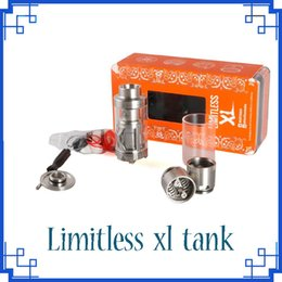 Wholesale Fans Products - High quality product IJOY LIMITLESS XL Tank 50W-215W 4ml Fan-styled Airflow Rebuildable Elektronik Sigara Atomizer vs evolve plus XL