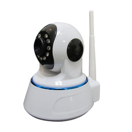 Wholesale Local Wifi - FTP Upload Wifi IP Camera Audio Alarm Support 64G Local Storage Wireless IPC with 11 Infrared Lamp 8m IR for Android IOC RH42-GT
