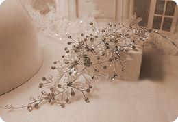 Wholesale Spark Jewelry - New Vintage Bridal Hairband Accessories Crysta luxurious Sparking Headpiece Jewelry Beaded Wedding Tiara Headband Headpieces Handmade Party