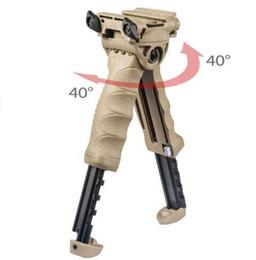 Wholesale T Pod Foregrip Bipod - MAKO Group FAB Defense Unmarking T-POD-G2 Rotating Tactical Foregrip & Bipod Tan