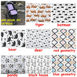 Wholesale Baby Carriages Buggies - Baby Pram Diaper Pad 9styles choose infant Stroller soft Pad Seat Carriages Pram Buggy Car seat Cushion Carriers boy girl Thick Mat