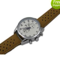 Wholesale Leather Stainless Steel Clasps - New Arrival Swiss Brand Tag Men Watch Sport Spacex Mens Watches Automatic Movement Mechanical Leather Band 1887 Wristwatch Original Clasp