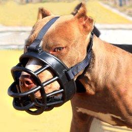 Wholesale Dog Golden - Pet Products Dog Muzzle Soft Silicone Mouth Mask Anti Bark Bite Dog Training Muzzle for Pitbull Sheperd Golden Retriever