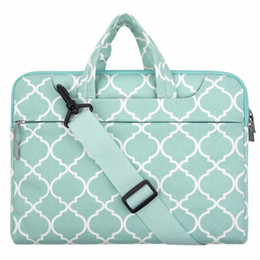 Wholesale Character Notebook - Mosiso Floral Women Strap Shoulder bag for Macbook Pro Air Lenovo Acer DELL 11.6 13.3 14 15.6 Notebook carry case Briefcase