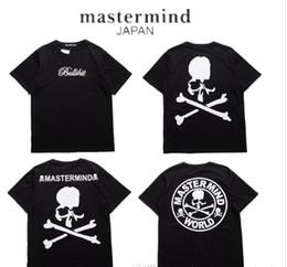 Wholesale Skeleton Woman - 2018 Mastermind Japan T shirt Men Women MMJ Japan Popular Brand Skeleton Summer Cotton T-Shirts Top Tees Mastermind Japan Tees