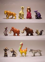 Wholesale Dolls Ice Age - 12pcs lot Ice Age 5 Action Figure Toys 5cm PVC Ice Age Figure Model Doll Anime Brinquedos Toys For Kids