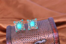 Wholesale trendy buy antique turquoise earring stud antique turkish ottoman jewelry jewelry stuff jewelry italy