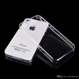 Wholesale Wholesale Iphone5c Cases Dhl Free - Iphone case Slim Transparent PC Hard shell Case For Apple Iphone6  4.7 Iphone6 plus  5.5 Iphone5C Iphone5   5S Iphone4   4S Free DHL