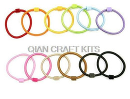 Wholesale Assorted Hair - 200pcs assorted Girl Kids Adult sturdy Hair Bands Elastic Ties Ponytail Holder