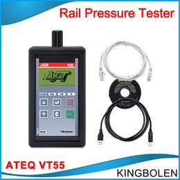 Wholesale Free Stock Data - 2017 Best ATEQ VT55 OBDII TPMS Diagnostic Tool Activate and Decode TPMS Sensors and Display Data or Faults in stock DHL free Shipping