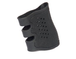 Wholesale Airsoft Ipsc - 10 pcs   1lot Airsoft sports Gun Ipsc Tactical GLOCK Antiskid Rubber Grip Glove for Glock 17 19 20 21 22 23 25 31 32 34 35 37 38
