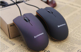 Wholesale Pc Lenovo - Wired Mouse Lenovo M20 USB 2.0 Pro Gaming Mouse Optical Mice For Computer PC with DHL free shipping
