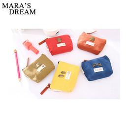 Wholesale Jelly Hobo Bags - Wholesale- Mara's Dream Women Cute Cartoon Zipper Printed Metal Glasses Coin Purse Wallet Canvas Jelly Keychain Bag Card Holder