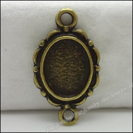Wholesale Vintage Picture Frames Wholesale - 100 pcs Vintage Charms Picture frame Pendant Antique bronze Fit Bracelets Necklace DIY Metal Jewelry Making