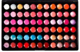 Wholesale Professional 66 Lipstick - Wholesale Free Shipping 1 Piece New Professional 66 Color Lip Gloss Lipstick Makeup Cosmetic Palette cosmetic palette