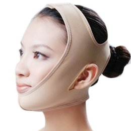 Wholesale Face Lift Belt - NEW Delicate Facial Thin Face Mask Slimming Bandage Skin Care Belt Shape And Lift Reduce Double Chin Face Mask Face Thining Band